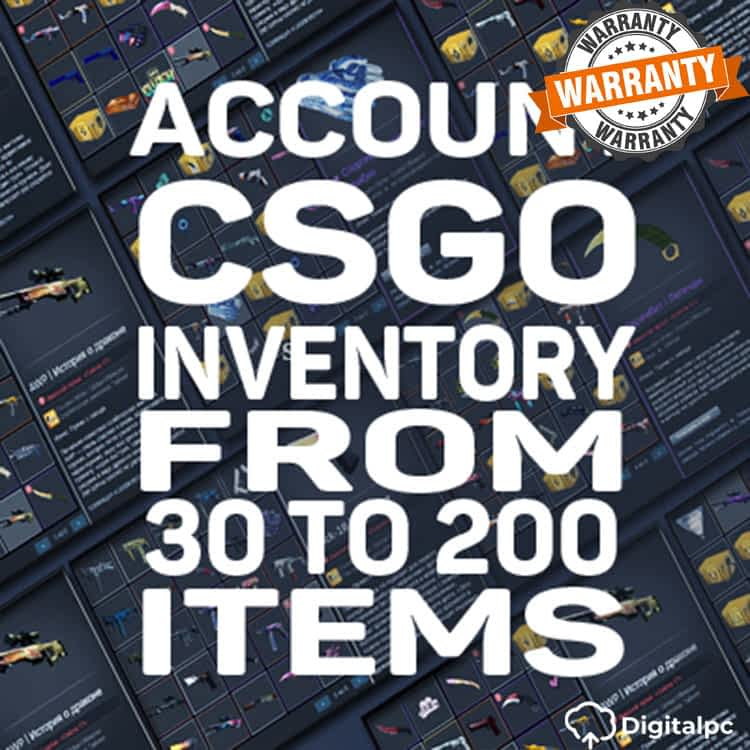 CSGO ACCOUNT from 30 to 200 items. PRIVATE.